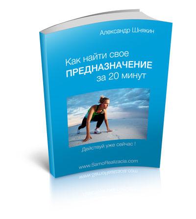 бесплатная книга - как найти свое предназначение за 20 минут